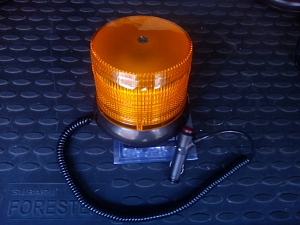 Маячок проблесковый 10W / 12 Volt (LED revolving light) смена режимов